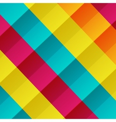 Colorful checkered background vector