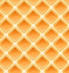 Waffles pattern seamless texture vector