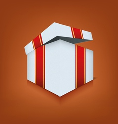 Box icon opened vector