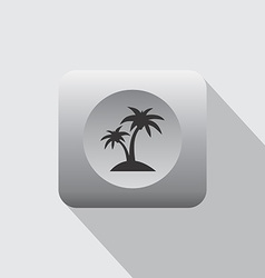 Summer vacation icon sign vector