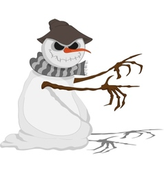Dreadful jack frost vector