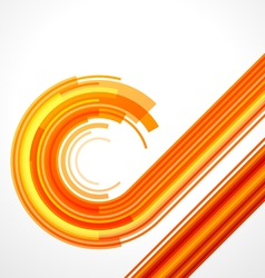 Abstract technology curves vector