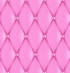 Luxury pink leather vector