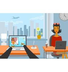 Working day vector