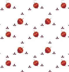 Acorn seamless background vector