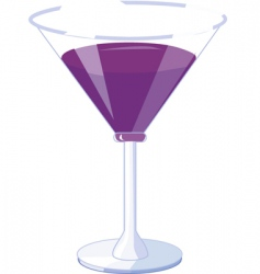 Alcoholic drinks vector