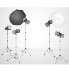 The photo studio vector