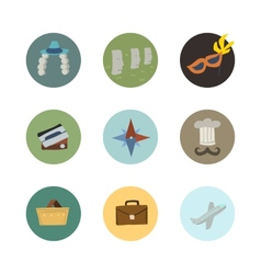 Travel icons set part 2 vector