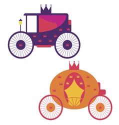 Royal transport vector