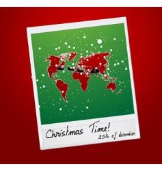 Christmas shot vector