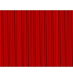 Curtain red closed with light spots in a theater vector