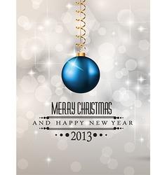 Elegant classic christmas background vector
