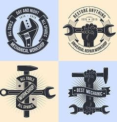 Emblem mechanics vector