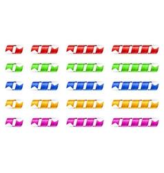 Spiral ribbons vector