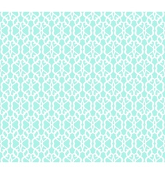 White forged seamless pattern on blue background vector