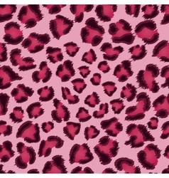 Seamless pink leopard texture pattern vector
