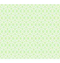 White forged seamless pattern on green background vector