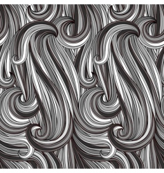seamless abstract monochrome pattern vector