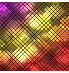Diagonal colored block background vector