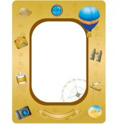 Explorer frame vector