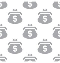 New dollar purse seamless pattern vector