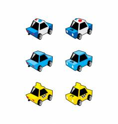 Small cars vector