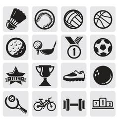 Sports set vector