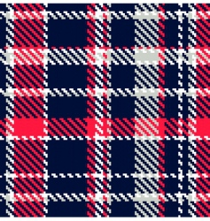 Seamless checkered pattern vector