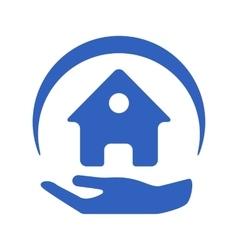 Home insurance logo vector
