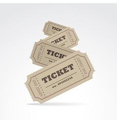 Tickets vector