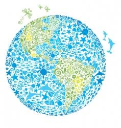 Living planet vector