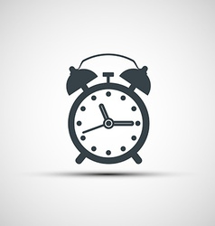 Icons alarm clock vector