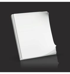 Journal on black vector