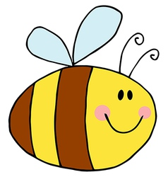 Pudgy bee vector