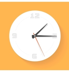 Wall clock watch icon vector