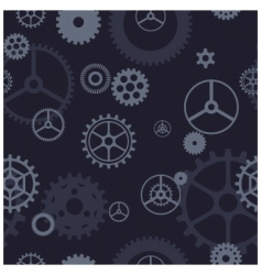 Gear pattern vector