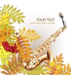 Classical saxophone alto vector