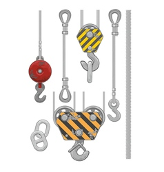 Set of slings vector