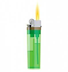 Cigarette lighter vector