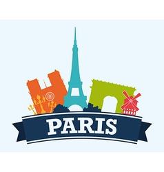 Paris design vector