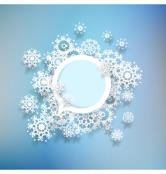 Abstract winter background  eps10 vector