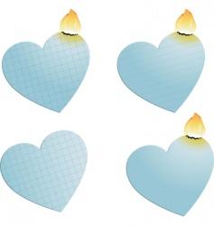 Heart burn vector
