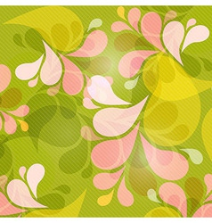 Green and pink abstract background vector