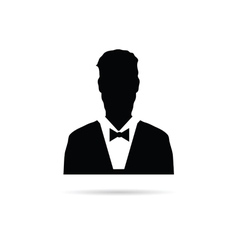 Man silhouette vector
