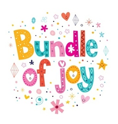 Bundle of joy vector