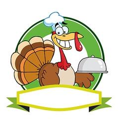Cartoon turkey vector