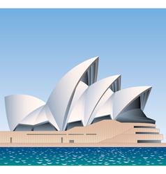 Sydney opera house australia vector