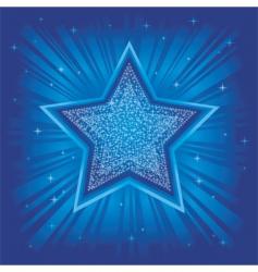 Bright star vector