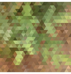 Nature colors triangle abstract background vector