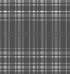 Gray tartan seamless background vector